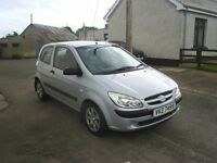 08 HYUNDAI GETZ GSI 3 DOOR HATCHBACK, GOOD CONDITION