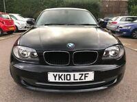 ONLY 55000 GENUINE MILEAGE 2010 *BMW 116 D SE* DIESEL-6 SPEED, £30 TAX, MOT APRIL 2018