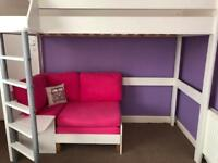 Child's Stompa bed high sleeper