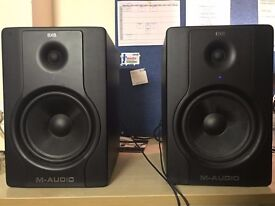 M-Audio BX8 D2 Studio Monitors x2