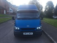 2003 Jumbo high top Ford transit in good condition,first to view will buy ,px welcome ,has 4 seats