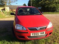 **EXCELLENT 2005 CORSA - NEW TIMING BELT AND YEARS MOT (NO ADVISORIES)**