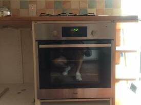 Whirlpool single oven - Stainless Steel