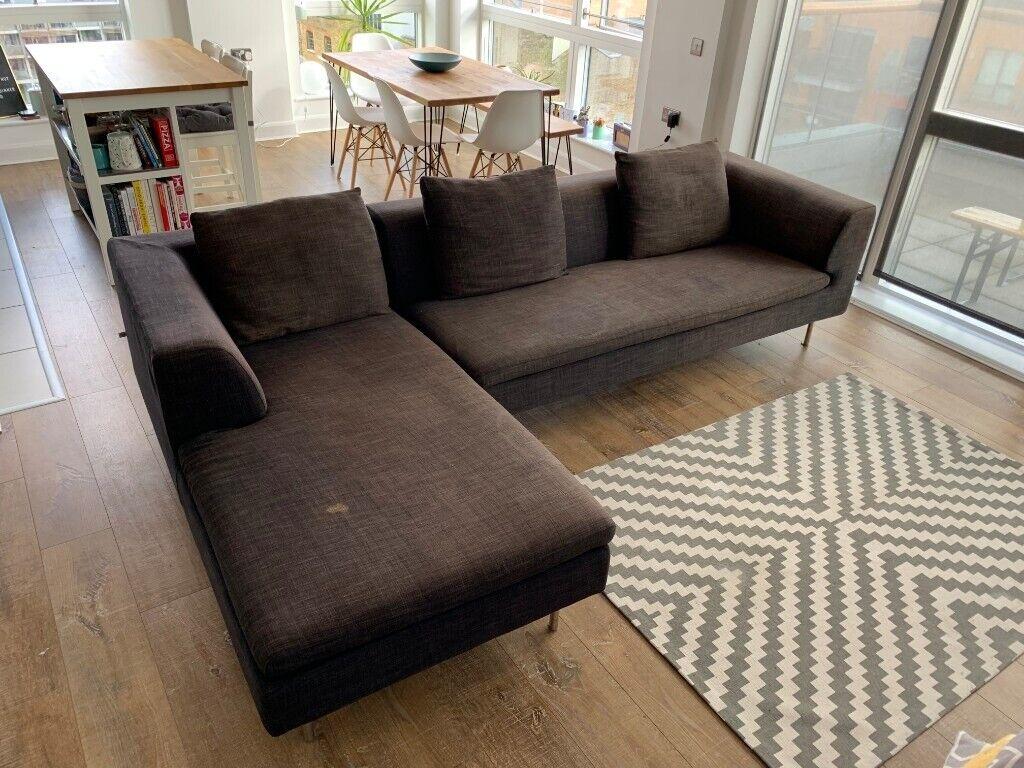 Grey Dwell L Shaped Sofa In London