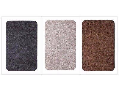 Waschbar Farbe (Fußmatte Fußabtreter Schmutzfangmatte Waschbar in 3 Größen und Farben)