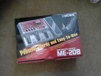 Boss ME - 20B Bass multiple effects box
