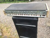 H & H PA amplifier 300W With Spring Reverb