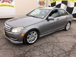2011 Mercedes-Benz C-Class 300, Automatic, Leather, Sunroof, AWD
