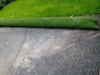 Brand new and unused artificial turf 3m x 2.9m £35.00