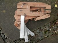 Four Woodworking Clamps