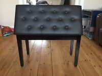As new double width piano stool.