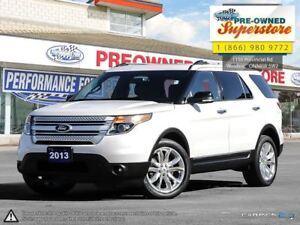 2013 Ford Explorer XLT***LEATHER, MOONROOF, NAV, AWD***