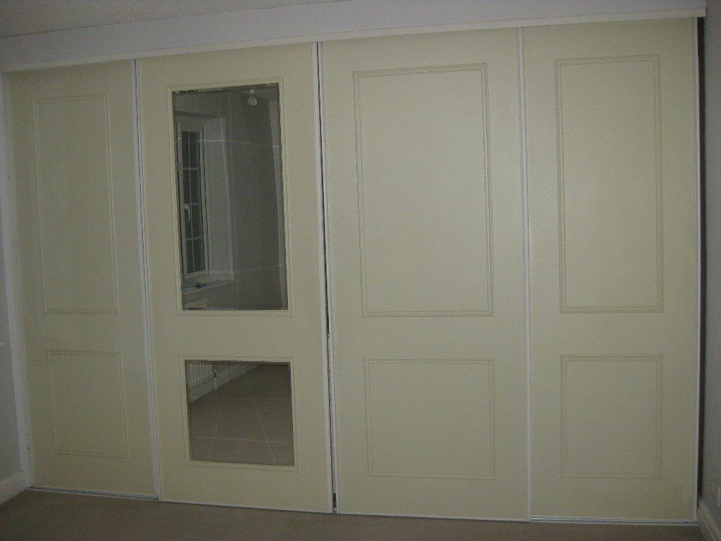 Stanley Sliding Wardrobe Doors And Track In Weybridge Surrey
