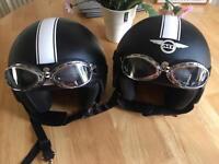 Mint condition helmets x2