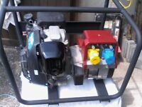 honda g c 160 generator 240==110 outputs