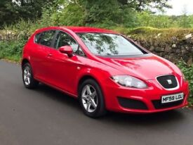 2009 SEAT Leon 1.9 Tdi Ecomotive DPF S *ONLY £30 ROAD TAX *TRADE IN CONSIDERED CREDIT CARDS ACCEPTED