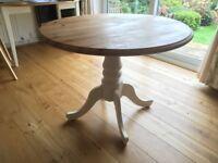Shabby Chic Pine Round Table
