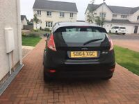 Black Ford Fiesta 64 plate