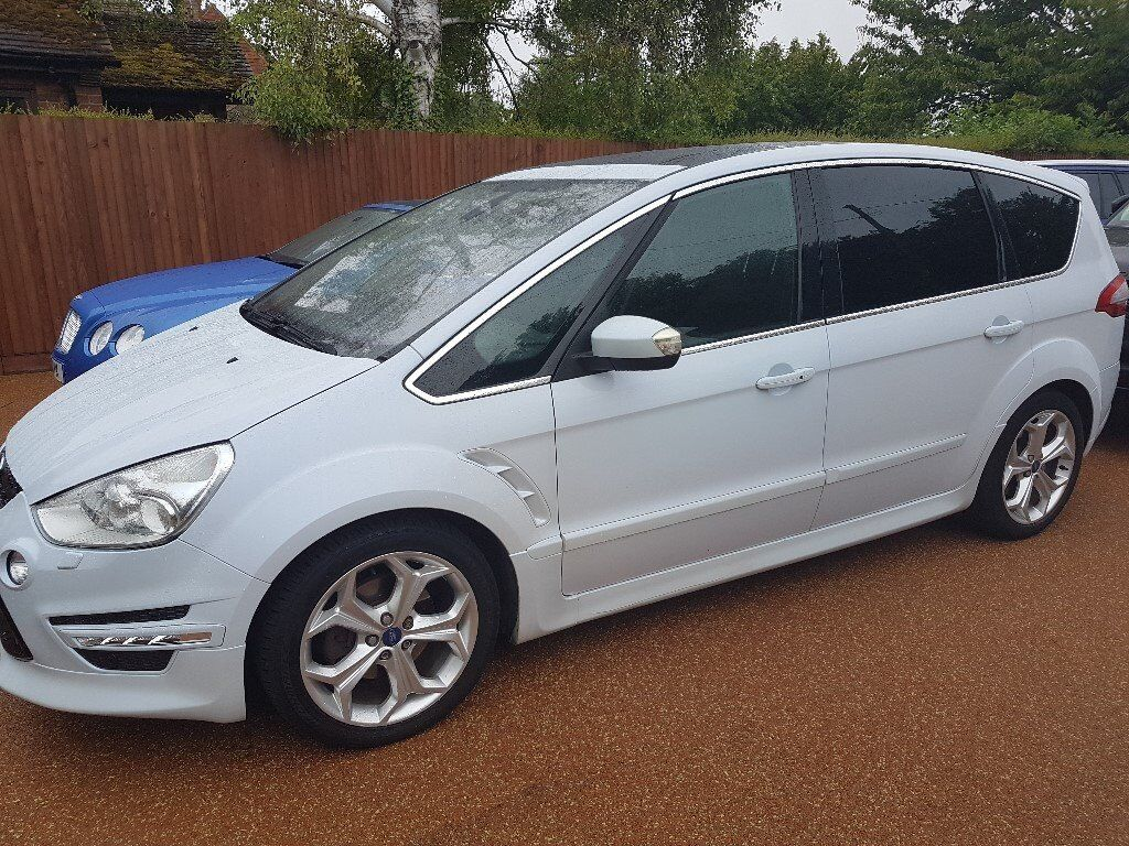 ford s max titanium x sport pearlescent white in. Black Bedroom Furniture Sets. Home Design Ideas