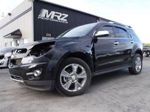 2013 Chevrolet Equinox LTZ V6 AWD - FULL- Cuir - Toit - GPS - DV