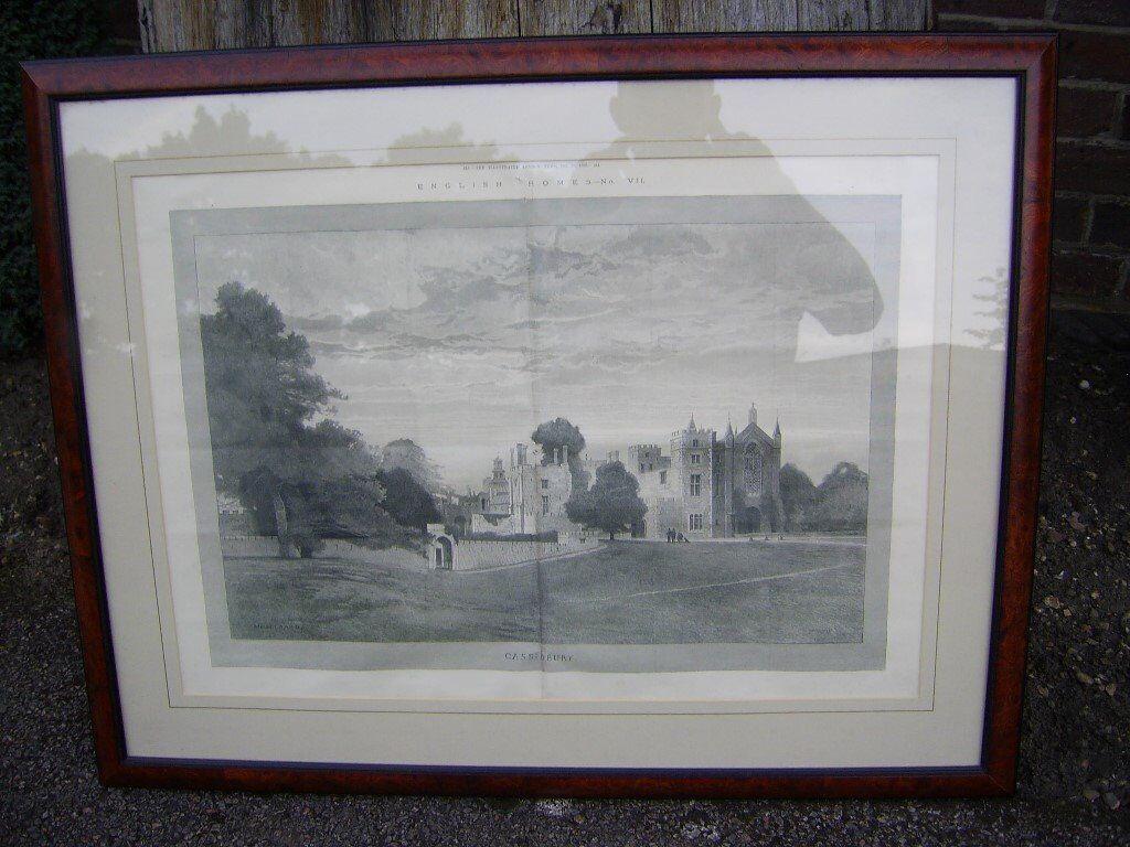 Cassiobury house watford 1886
