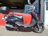 2013 Sym Allo - 125cc twist and go scooter - £999. Mint Condition - 470 miles on clock.