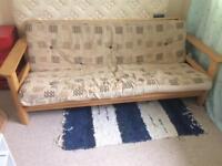Kyoto Jasmine 3 Seater Futon