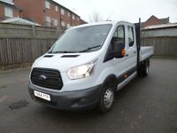 Ford Transit 290 TREND SHR P/V Dropside Crew 7 Seats One Owner FSH