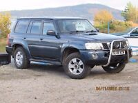 2006 NISSAN PATROL 3.0 TD SVE 7 SEAT MAN. FSH LEATHER, LOW MILES