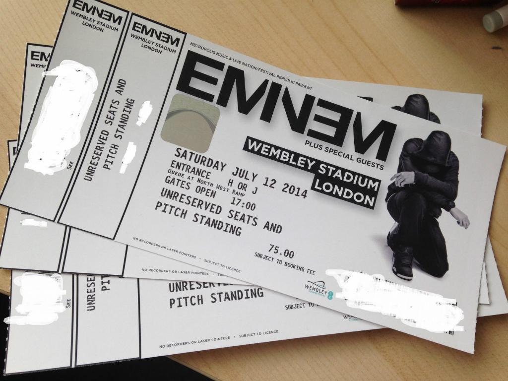 eminem tickets - photo #9