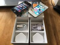 x2 Iphone 4s one black/one white, both 16GB and unlocked! Boxed and in good condition x