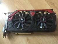 MSi Gaming Twin Frozer Nvidia GTX 770 2GB OC Edition GDDR5 Graphics card GPU