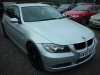 BMW 3 SERIES 2.0 318D ES 4d 121 BHP (silver) 2007