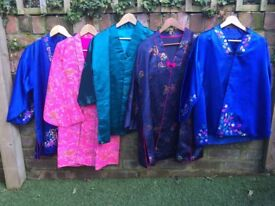 Selection of genuine Cambodian Kimonos various colours
