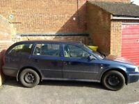 Skoda Octavia 1.6 Estate, MOT until July