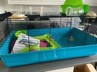 Large Hamster Cage & lots of accessories