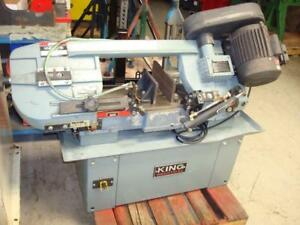 King Industrial 7x12 Horizontal Band Saw