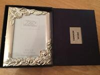 Silver plated frame