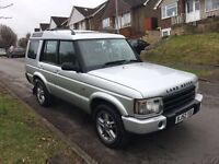 2002/52 LAND ROVER DISCOVERY V8I XS AUTO...LPG CONVERTED...STARTS & DRIVES...BARGAIN!!