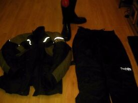 WET GEAR AND BOOTS