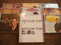 8 EASY LISTENING CD'S