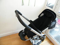 quinny buzz 3 in black with accessories