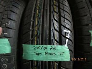 205/60R16 SINGLE ONLY USED TYO ALL SEASON TIRE