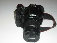 Canon 1100D DSLR Camera for sale.
