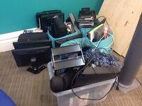 Random bits of office tech equipment