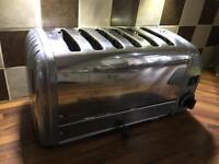 Dualit 6 slice toaster.