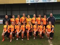 Worksop Town Ladies F.C Looking for dedicated players