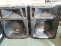 EV ELECTROVOICE SX500 P.A. BAND DJ SPEAKERS