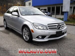 2008 Mercedes-Benz C-Class 3.5L-AWD-$125-bi-wkly-Reduced!