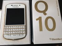 Blackberry Q10 Gold Special Edition Unused
